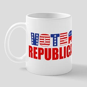 Vote Republican (Stars & Stripes) Mug