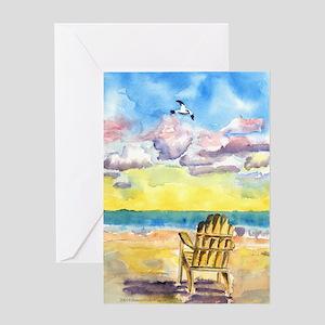 Beach Chair Birthday Card