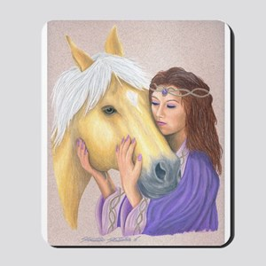 Princess & Her Pony Mousepad