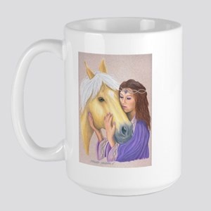 Princess & Her Pony Large Mug