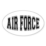 Air Force Oval Sticker