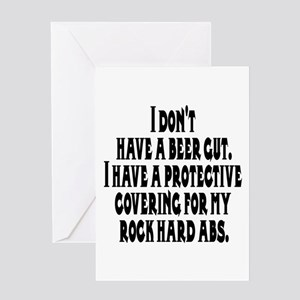 I don't have a beer gut, I ha Greeting Card