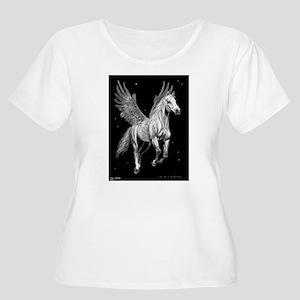 Starflight Women's Plus Size Scoop Neck T-Shirt