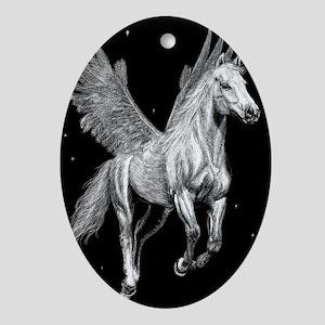 Starflight Oval Ornament