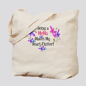 MeMa Heart Flutter Tote Bag