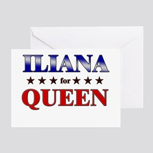 ILIANA for queen Greeting Card