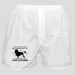Lowchen Dog Design Boxer Shorts
