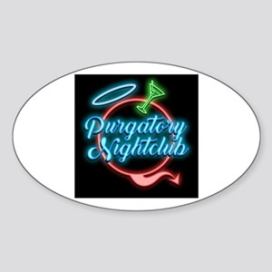 Purgatory Nightclub Sticker