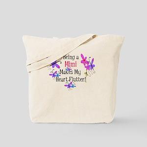 Mimi Heart Flutter Tote Bag