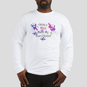 Mimi Heart Flutter Long Sleeve T-Shirt