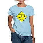 Ax Murderer X-ing Women's Light T-Shirt