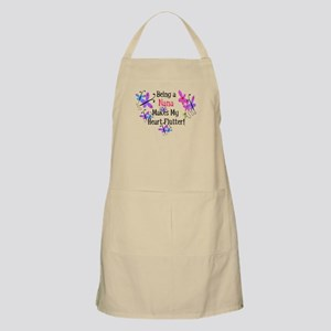 Nana Heart Flutter BBQ Apron