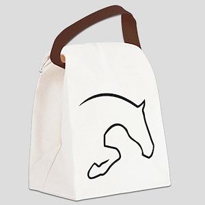 Hunter Jumper Canvas Lunch Bag
