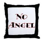 No Angel Throw Pillow