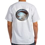 Paraglider in Space Ash Grey T-Shirt