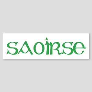 Saoirse Bumper Sticker