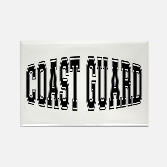 Coast Guard Rectangle Magnet