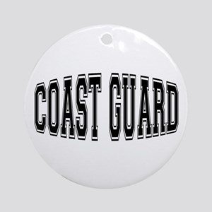 Coast Guard Ornament (Round)