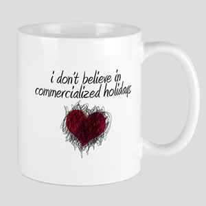 No Commercialized Holidays Mug
