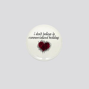 No Commercialized Holidays Mini Button
