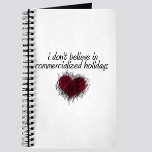 No Commercialized Holidays Journal