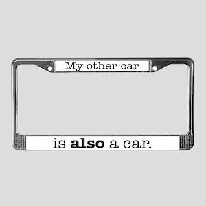 Other Car License Plate Frame