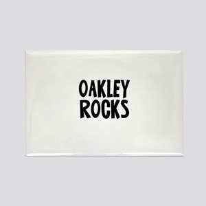 Oakley Rocks Rectangle Magnet