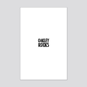 Oakley Rocks Mini Poster Print