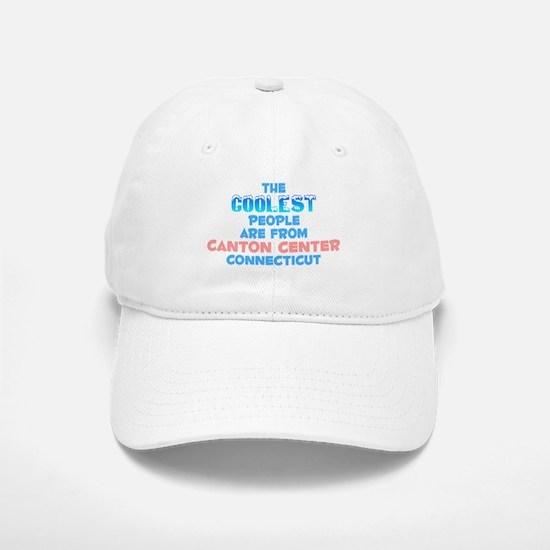 Coolest: Canton Center, CT Baseball Baseball Cap