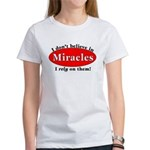 Miracles Women's T-Shirt