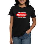 Miracles Women's Dark T-Shirt