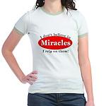 Miracles Jr. Ringer T-Shirt