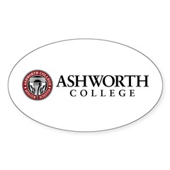 Ashworth College Oval Decal