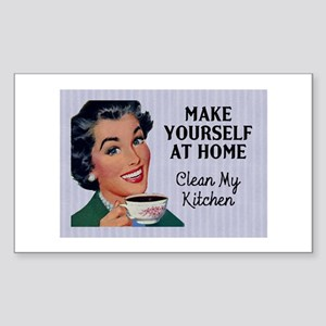 Make Yourself At Home Sticker