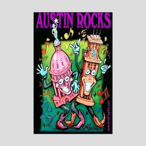 Austin texas posters cafepress mini poster print m4hsunfo