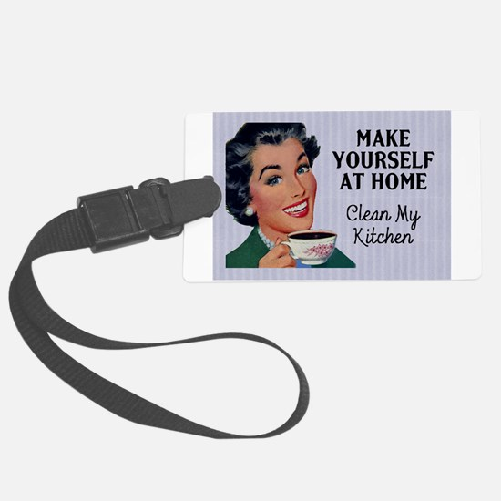 Make Yourself At Home Large Luggage Tag