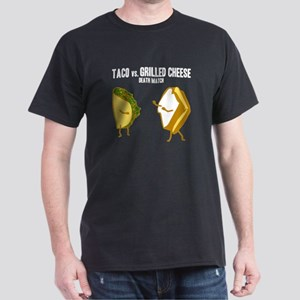 Taco VS Grilled Cheese Dark T-Shirt