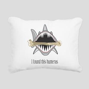 I Found This Humerus Rectangular Canvas Pillow