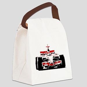F 1 Canvas Lunch Bag