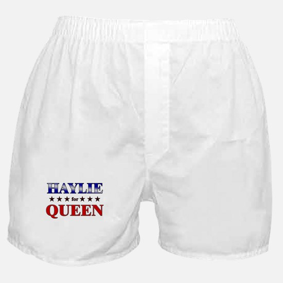 HAYLIE for queen Boxer Shorts