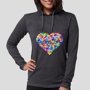 Rainbow Heart of Hearts Long Sleeve T-Shirt