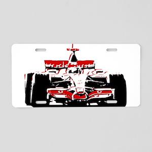 F 1 Aluminum License Plate
