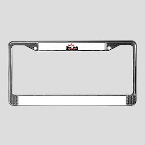 F 1 License Plate Frame