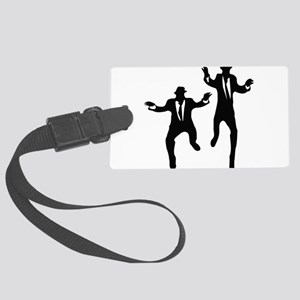 Dancing Brothers Large Luggage Tag