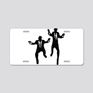 Dancing Brothers Aluminum License Plate
