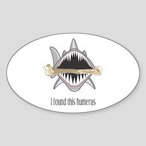 Funny Shark Sticker