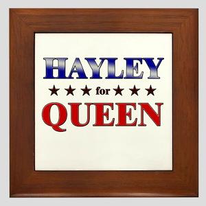 HAYLEY for queen Framed Tile
