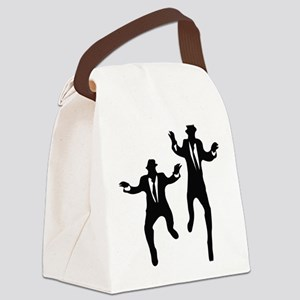 Dancing Brothers Canvas Lunch Bag