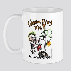 Tetherball Champ Wanna Play Mug