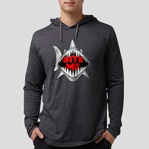 Bite Me Shark Long Sleeve T-Shirt
